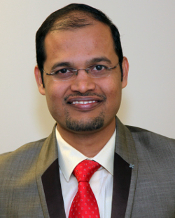 Dr. Shetty's portrait